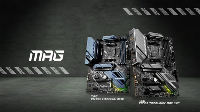 MSI MAG X570S Mainboards Release