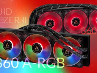 arctic liquid freezer ii 360 rgb argb