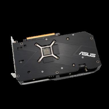 ASUS DUAL AMD Radeon RX 6600 XT Backplate
