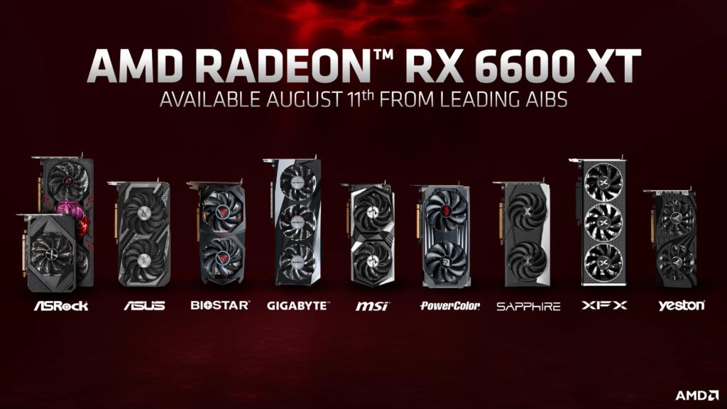 rx 6600 xt release preis