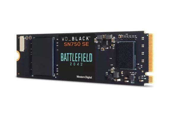 wester digital sn750se battlefield