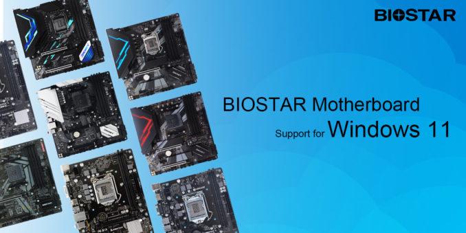 windows 11 support mainboards biostar