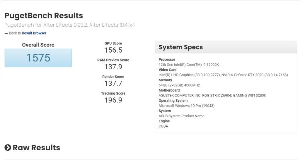 Intel Core i9-12900K Benchmark