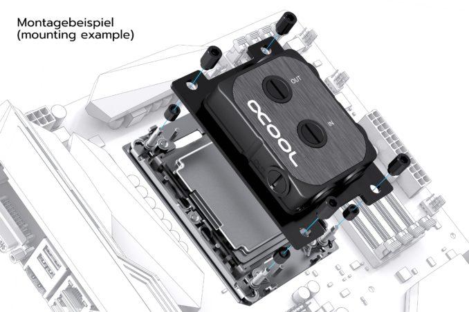 Alphacool Kühler LGA 1700 und 4189