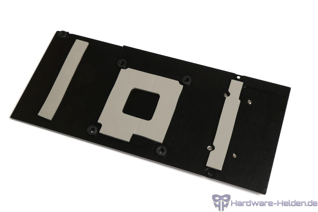 Aqua Computer kryographics Next RTX 3080 Ti/3090 Backplate Montage