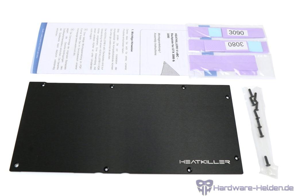 Watercool Heatkiller V RTX 3080/3090  Backplate