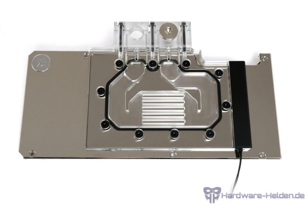 EK-Quantum Vector RTX 3080/3090 aktive Backplate Test