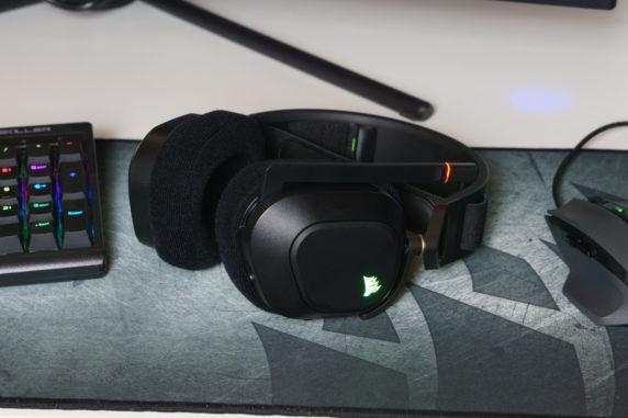 Corsair HS80 RGB Wireless Test Review