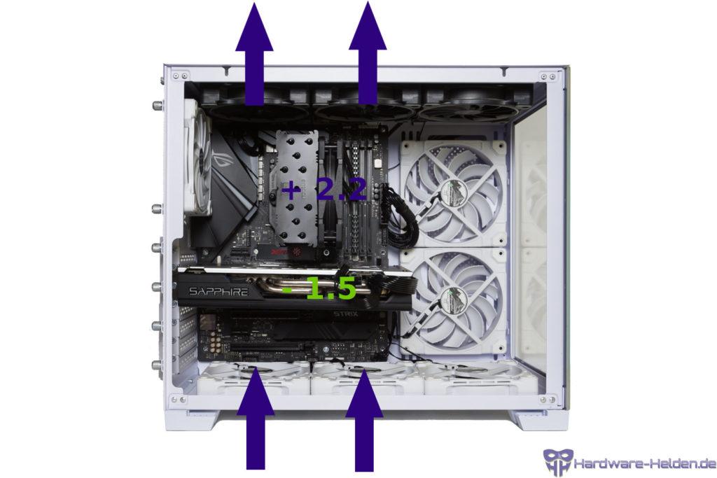 lian li o11 dynamic mini fan configuration