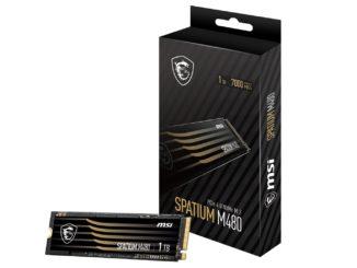MSI Spatium 480 SSD