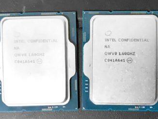 Intel 12900K benchmark Performance