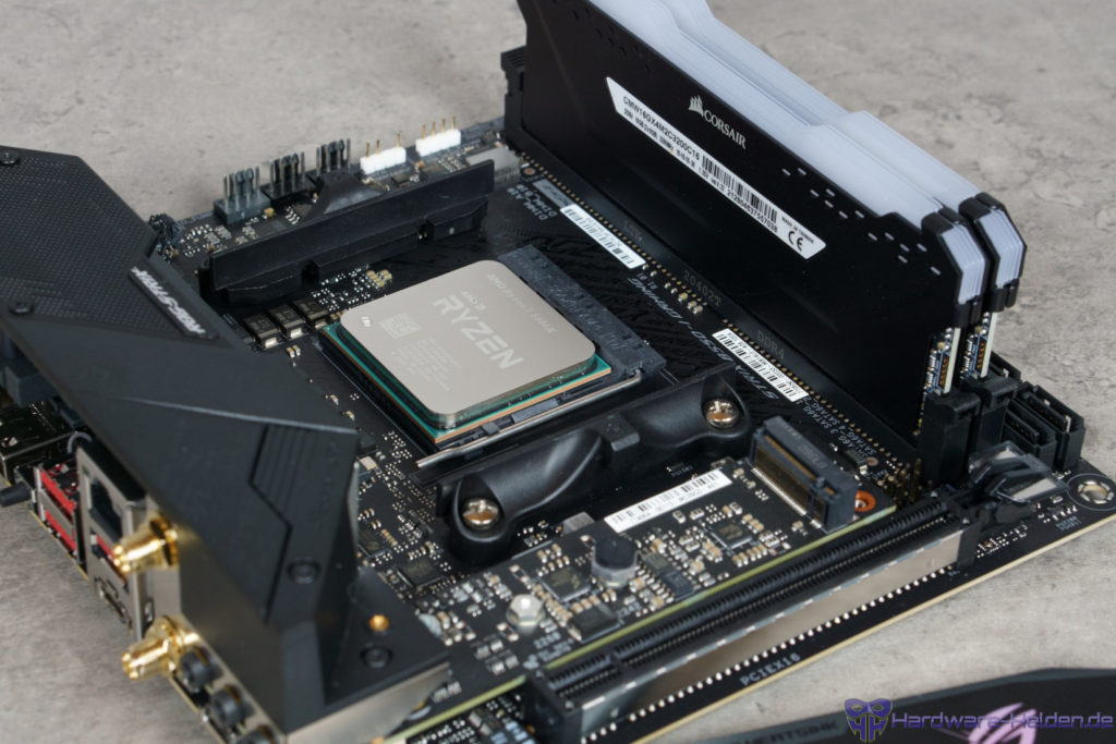 ASUS ROG Strix B550-I Gaming  RAM