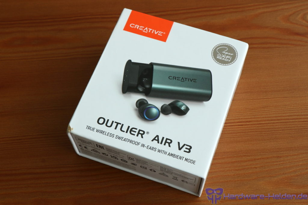 Creative Outlier Air V3 Verpackung
