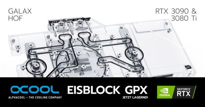 Alphacool GALAX KFA2 RTX 3080 3090 HoF Wasserblock