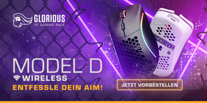 Glorious Model D Wireless Release